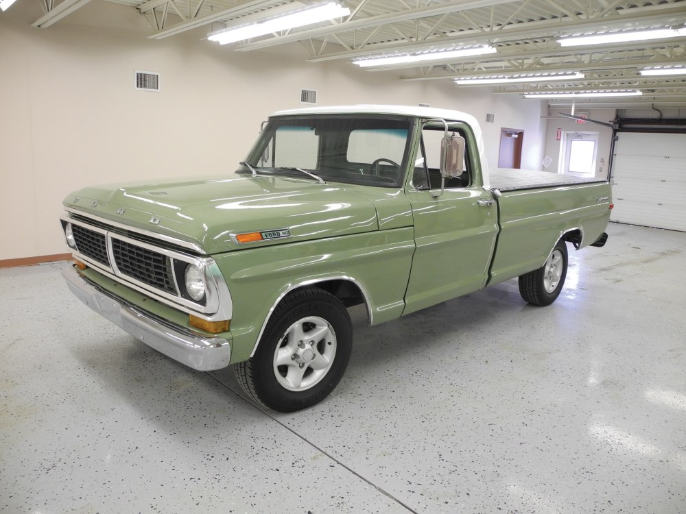 medium resolution of 1970 ford f100 sport custom pickup