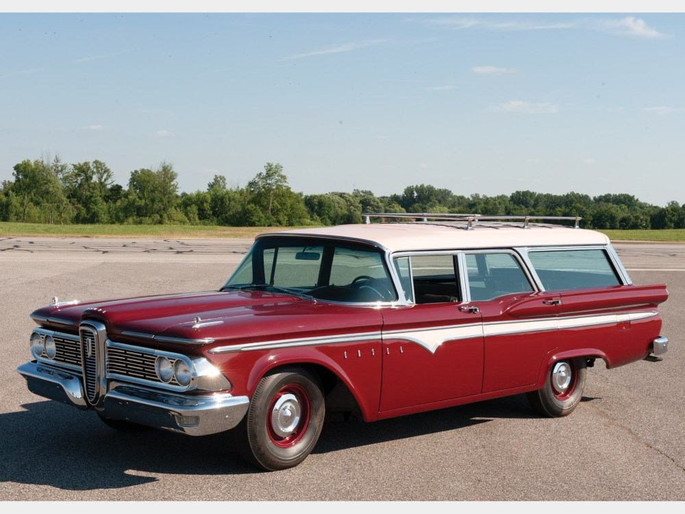 medium resolution of 1959 edsel villager six passenger station wagon