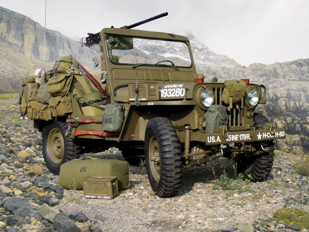 medium resolution of 1952 willys m38 korean war jeep