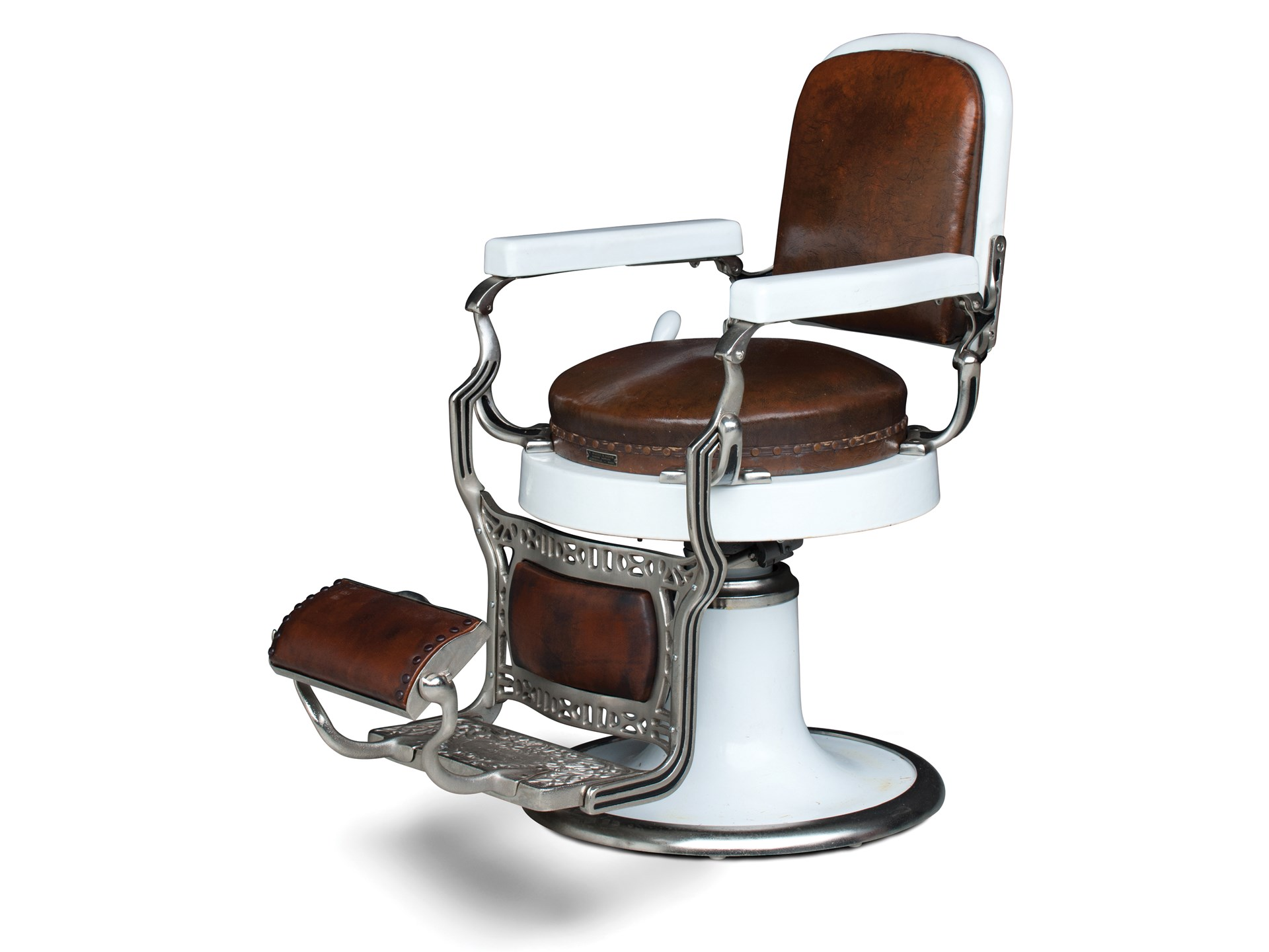 Koken Barber Chairs Rm Sotheby S Koken Barber Shop Chair The Dingman Collection