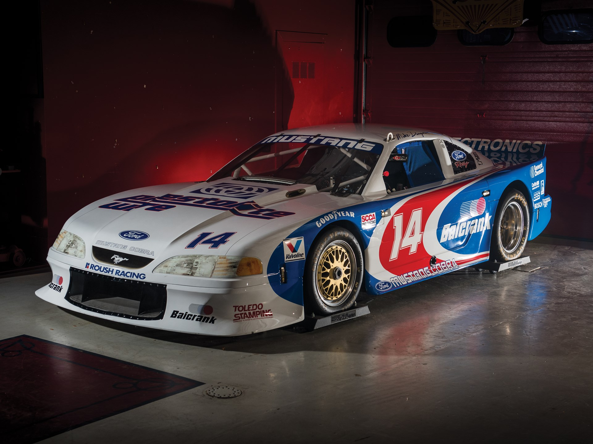hight resolution of 1995 ford roush mustang cobra scca trans am