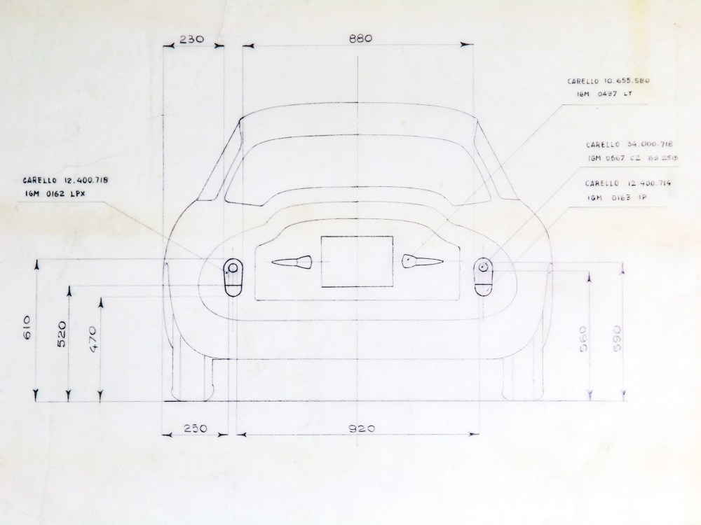 medium resolution of alfa romeo giulietta sz blueprint