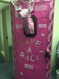 Breast Cancer Awareness Door | RE/MAX Alliance