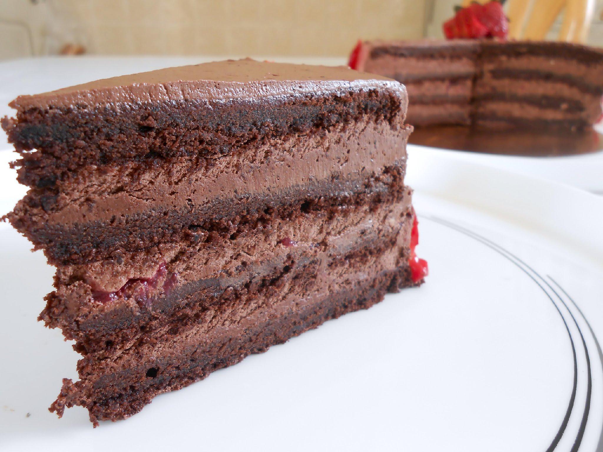 طريقة عمل الكيك بالشوكولاتة سهلة اسهل كيك شيكولاتة رمزيات