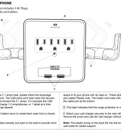 instruction manual for rnd wall charger rnd sps dual phone [ 3215 x 2359 Pixel ]