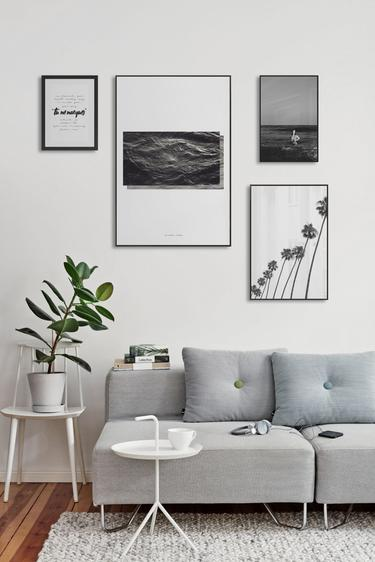 framed wall pictures for living room ireland ideas on decor pairs of prints curated art collections juniqe uk minimal monochrome