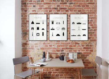 wall art sets for living room interior designs rooms photos pairs of framed prints curated collections juniqe uk