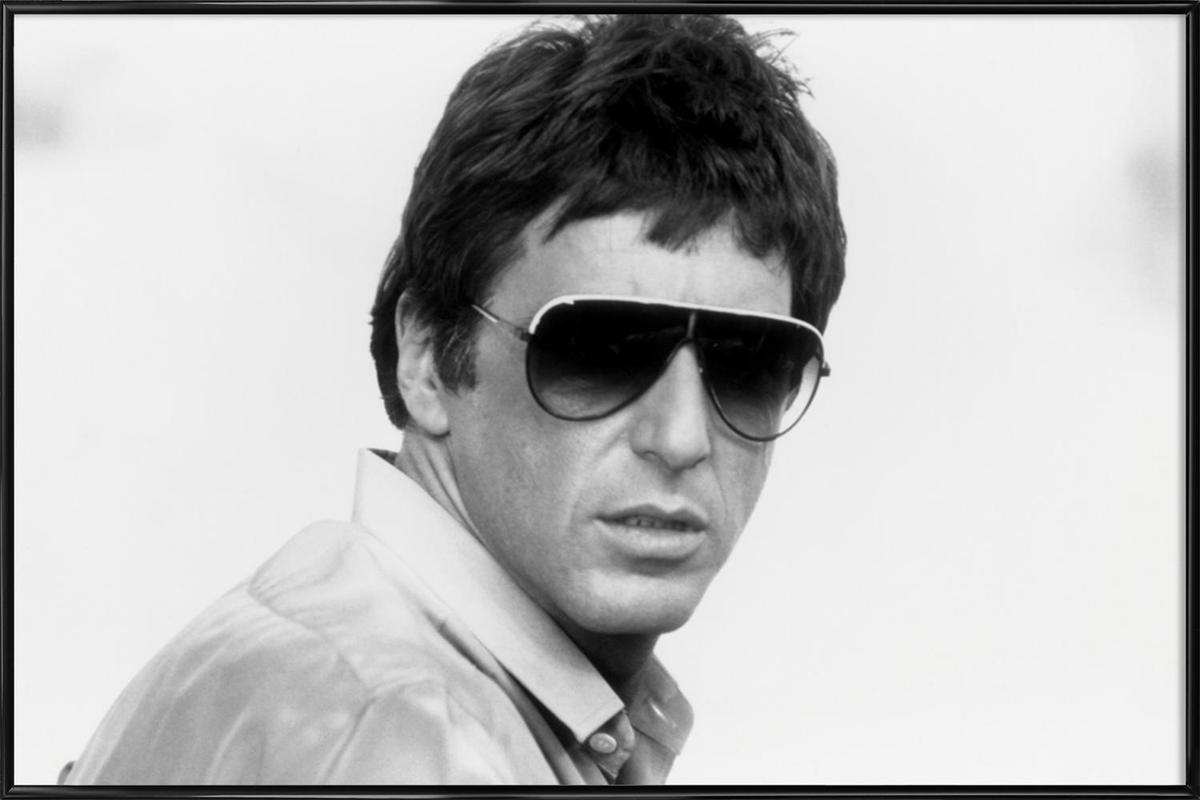 Al Pacino As Tony Montana In Scarface Poster In Standard