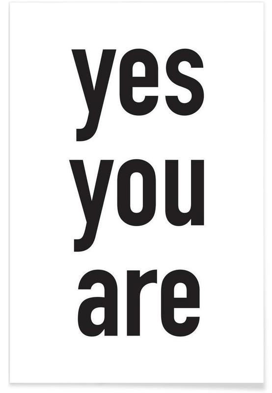 yes you are poster