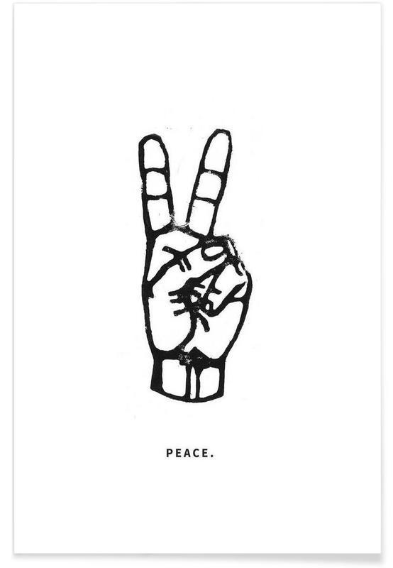 peace poster juniqe uk