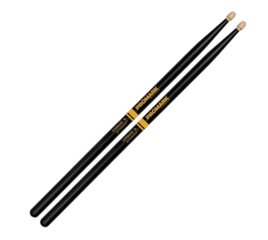 Promark Forward Balance 7A Acorn Tip Hickory Active Grip Drumstick