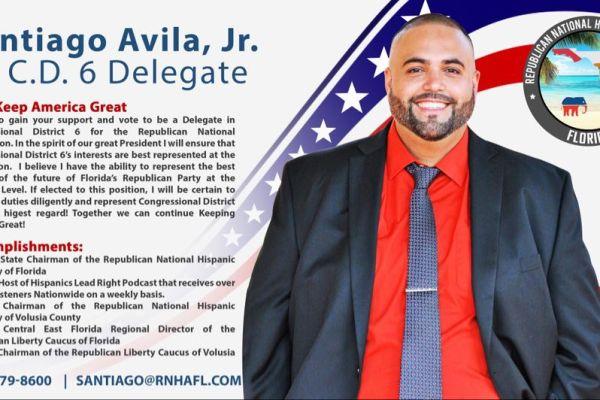 Santiago Avila Jr Endorsement