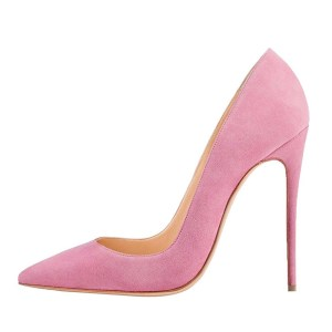 The PinkSueded Shoe