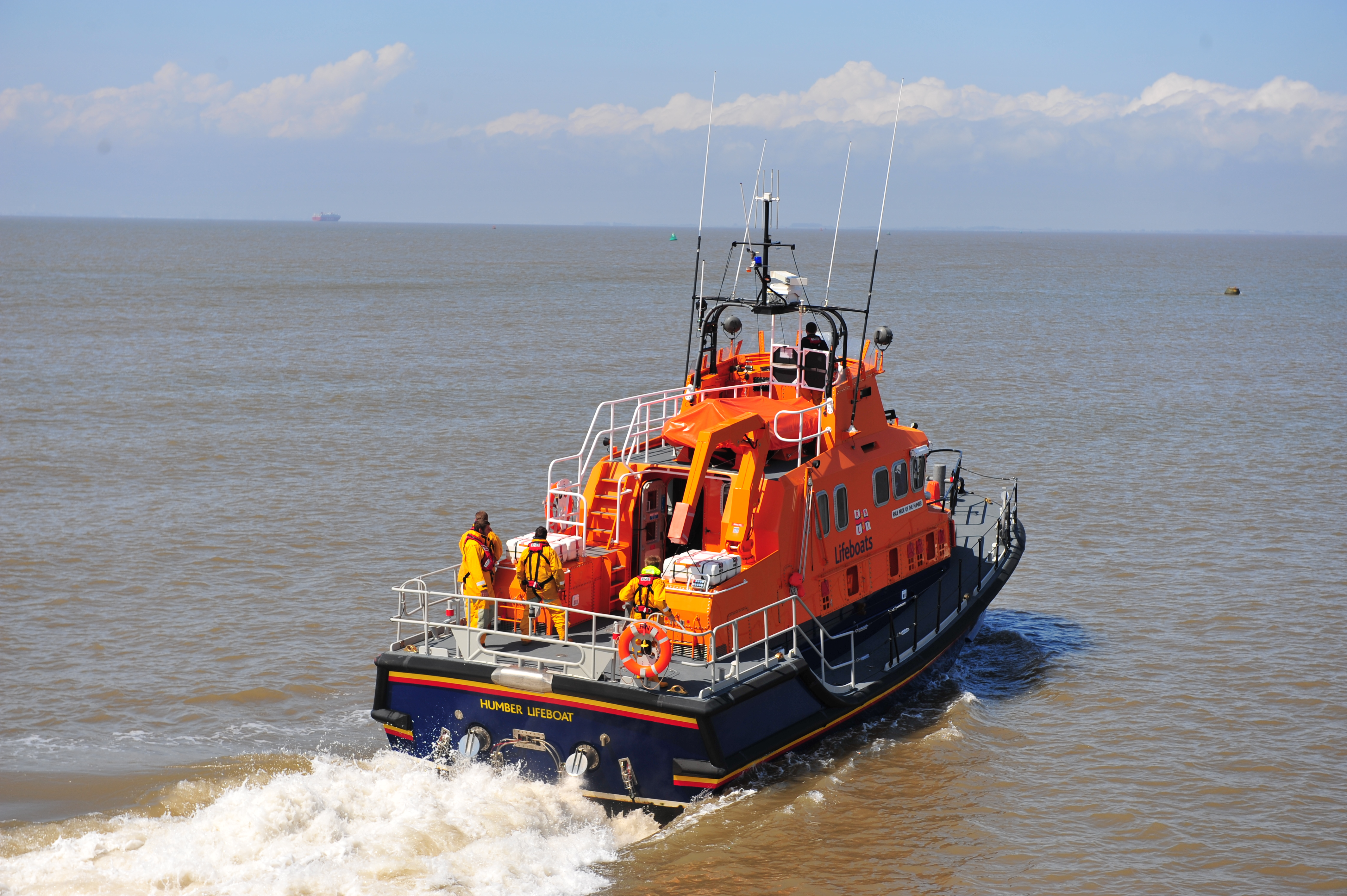 Unique Volunteering Opportunity At Humber RNLI Lifeboat