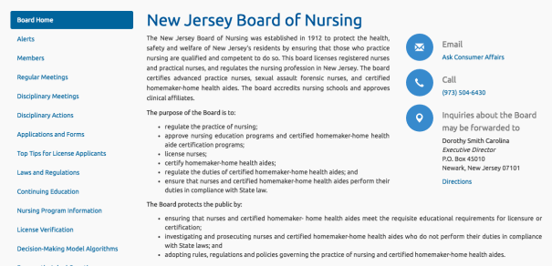 """RN License Verification NJ"""