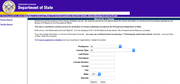"""RN License Verification PA"""