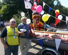 Steve, Rod and Stormy at the Newport Pagnell Carnival