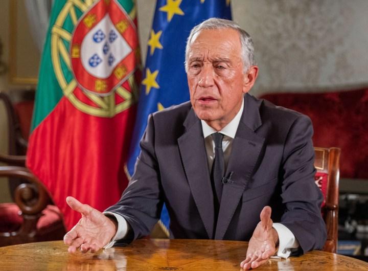PR, Marcelo Rebelo de Sousa, apela ao voto nas eleições legislativas de 2019