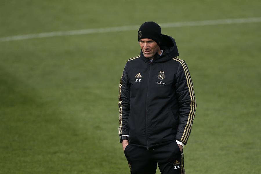 El entrenador francés del Real Madrid, Zinedine Zidane. (EFE/JAVIER LIZÓN/Archivo)