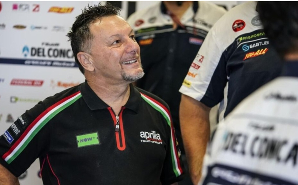 Fausto Gresini se contagió en diciembre de la enfermedad. (Foto: AFP)