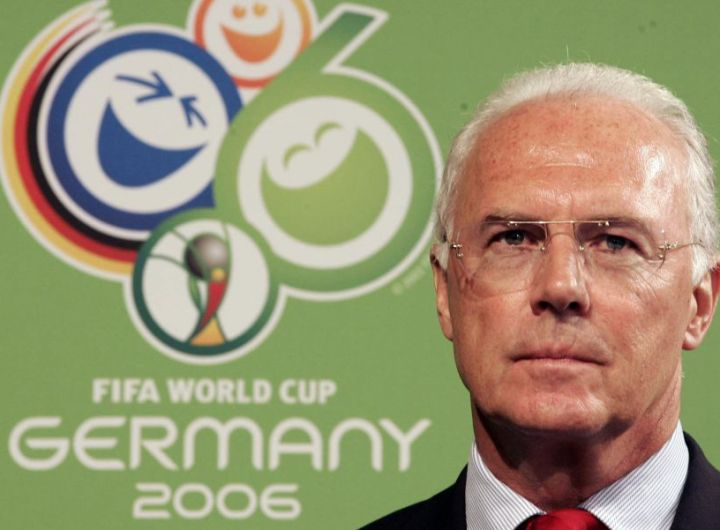 Franz Beckenbauer en marzo de 2006. (Foto: PASCAL PAVANI AFP)