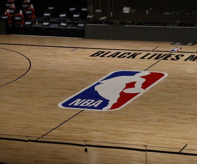 Cancha de la NBA. (FOTO: Kim Klement - Pool/Getty Images/AFP) ARCHIVO