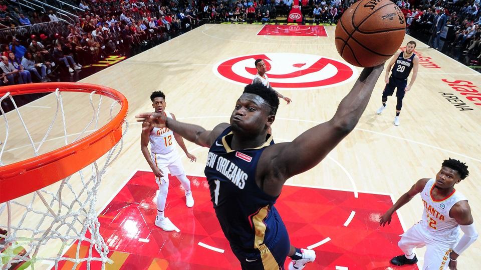 Zion Williamson va a su primer Juego de Estrellas de la NBA. (FOTO: Scott Cunningham/NBAE via Getty Images/AFP)