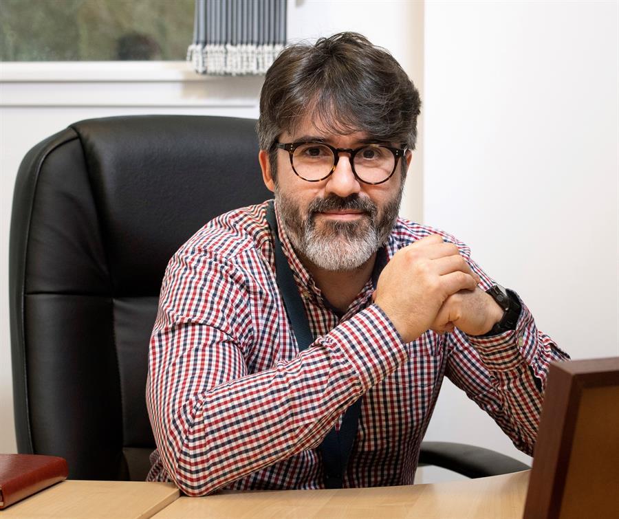 El argentino Pablo Murcia, virólogo en la Universidad de Glasgow (Escocia), EFE