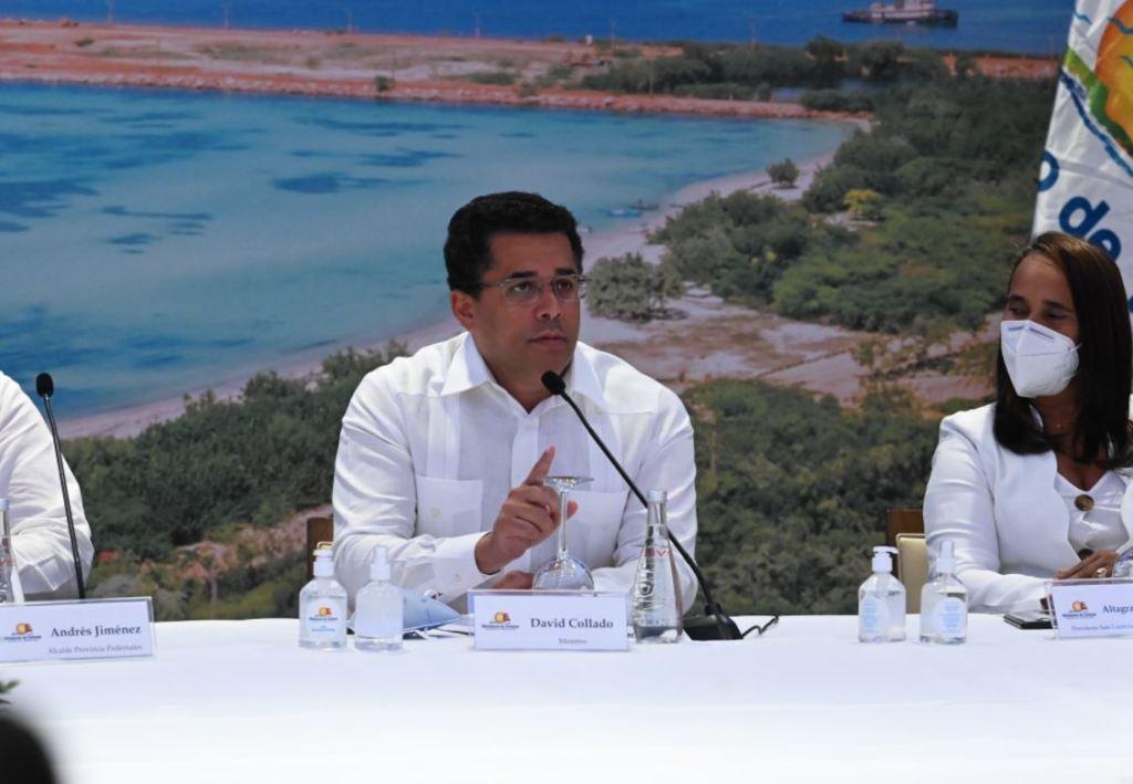 David Collado, ministro de Turismo.