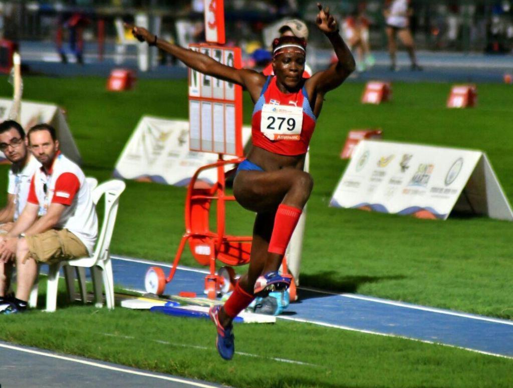 Ana Tima, atleta de salto largo. (Foto: Fuente Externa)