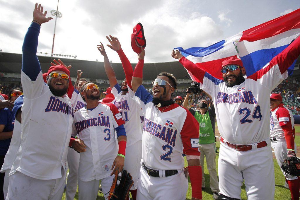 Jugadores del equipo dominicano conquistaron el repechaje de Puebla que les otorgó el pase a los Juegos Olímpicos de Tokio-2020. (Foto: Fuente Externa)