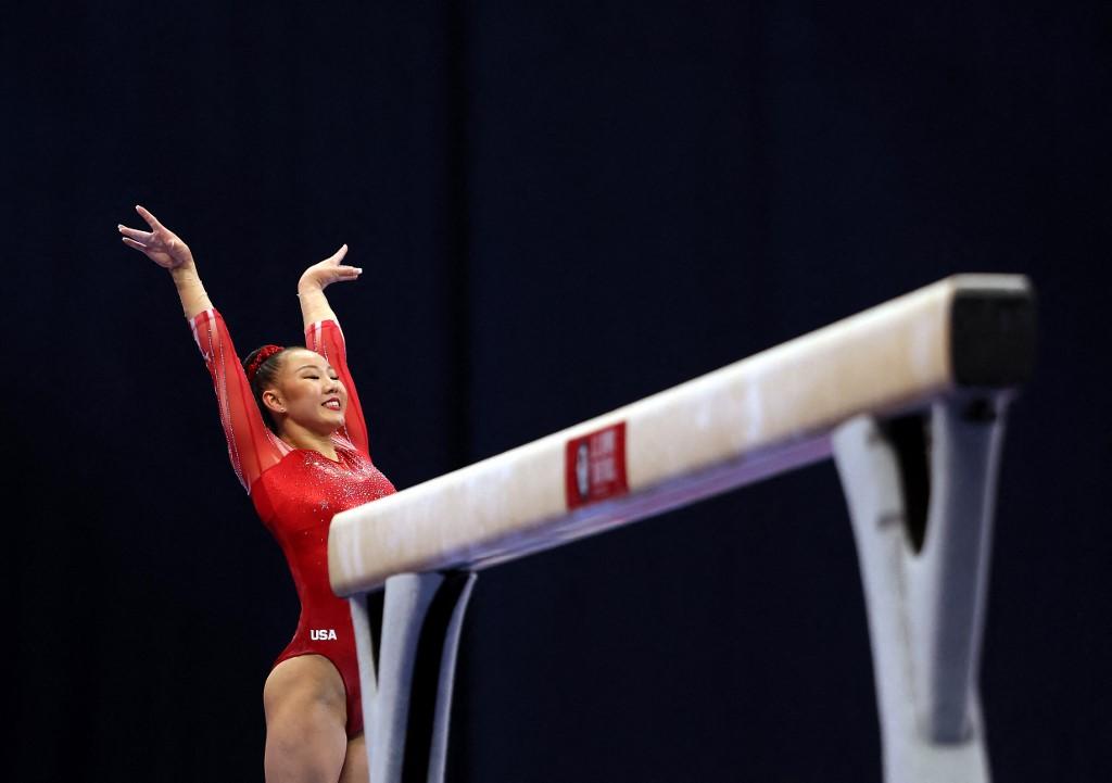 Kara Eaker   (Foto: Jamie Squire/Getty Images/AFP)