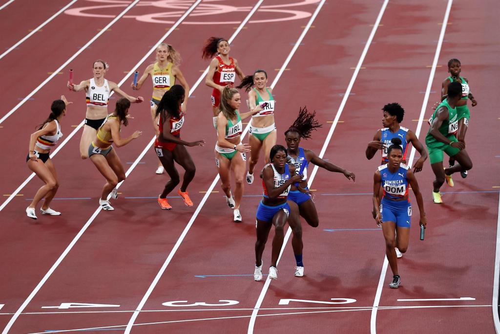 Acción de la carrera. (Foto: EFE/EPA/FAZRY ISMAIL)
