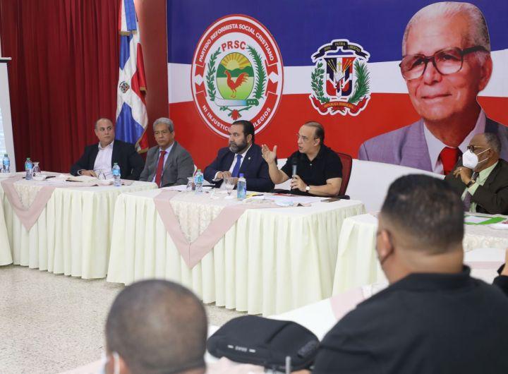 (foto #2) de la reunion del Directorio Presidencial (DP), celebrada este jueves.