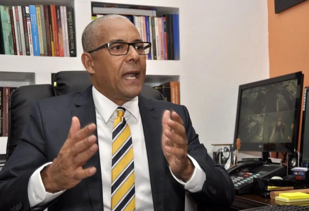 Julio César de la Rosa, presidente de Alianza Dominicana contra la Corrupción(ADOCCO),