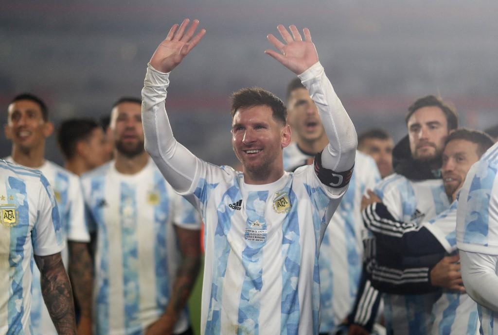 El argentino Lionel Messi  (Foto: Juan Ignacio RONCORONI / POOL / AFP)