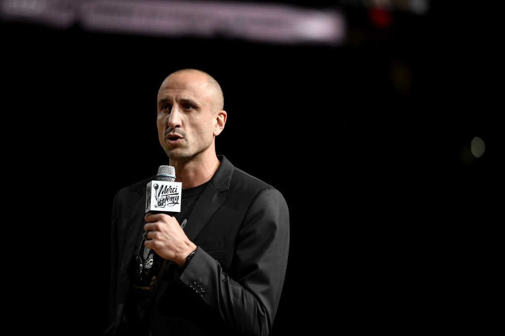 El argentino Manu Ginobili  (Foto: Logan Riely/NBAE via Getty Images/AFP)