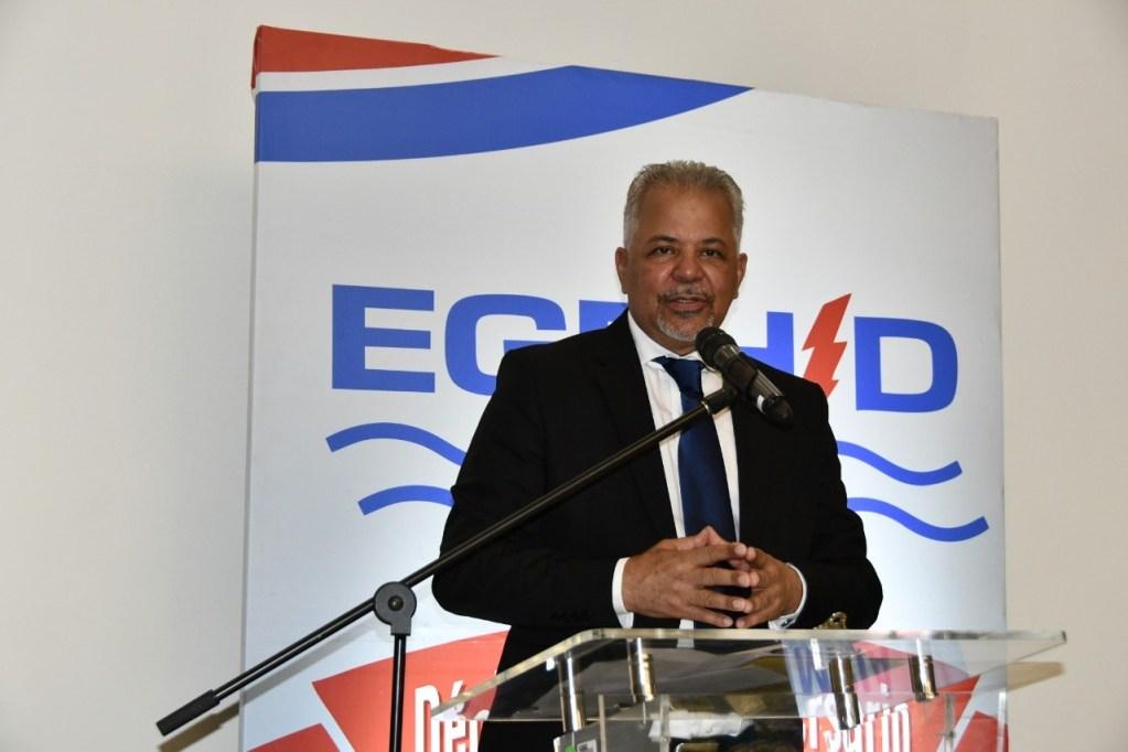 Administrador de la Empresa de Generación Hidroeléctrica Dominicana (EGEHID), Ángel Rafael Salazar.