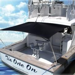 Fishing Chair Setup Giant Pillow Boat Shade Kit X From Rnr-marine.com™