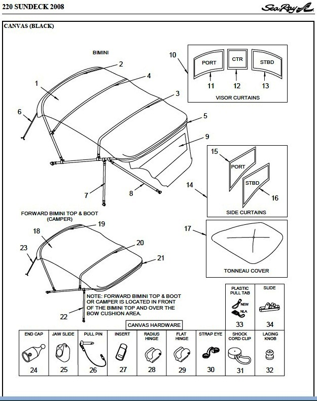 Bimini Parts Diagram. Diagram. Auto Wiring Diagram