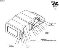 1995-1996 Sea Ray® 250 Sundancer Factory Original (OEM
