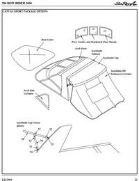 2000 Sea Ray® 280 Bowrider Sport Factory Original (OEM