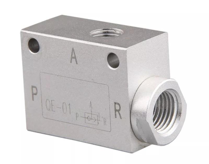 aluminum quick exhaust valve qe 01
