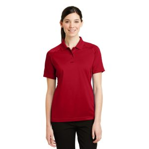 CornerStone® Ladies Select Snag-Proof Tactical Polo – CS411