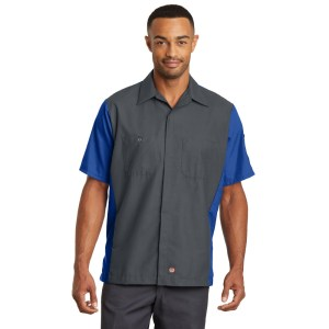 Red Kap® Short Sleeve Ripstop Crew Shirt – SY20