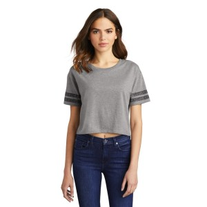 District ® Women's Scorecard Crop Tee – DT488