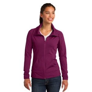 Sport-Tek® Ladies Sport-Wick® Stretch Full-Zip Jacket – LST852