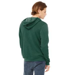 BELLA+CANVAS ® Unisex Sponge Fleece Full-Zip Hoodie – BC3739