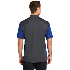 Sport-Tek® Colorblock Micropique Sport-Wick® Polo – ST652