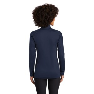 Eddie Bauer ® Ladies Smooth Fleece Base Layer Full-Zip – EB247